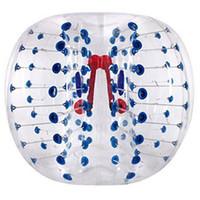 bola de hámster humano zorb al por mayor-La bola inflable de las bolas de Zorb del hámster del traje de burbuja de la bola humana certificó el franqueo libre del 1m 1.2m el 1.5m el 1.8m