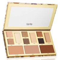 Wholesale Eyeshadow 12 Colour Palette - New arrival Tarte clay play 12 colour eyeshadow palettes easy to wear and waterproof
