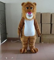 Wholesale Lion Mascot Costumes For Sale - Hot sale brown lion mascot costume brown lion costume for sale ems free shipping