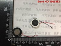 Wholesale Speaker 1w - Wholesale- 1PCS Round Speaker 1W8R 8 Europe 8R 1W diameter 16MM small speaker thickness of 4mm