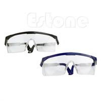 endüstriyel camlar toptan satış-Toptan-Temizle Güvenlik Gözlükleri Gözlük Çalışma Endüstriyel Aracı Göz Aşınma Koruma Aracı