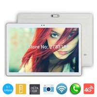 Wholesale Call Tab - Wholesale- 2017 New Android 5.1 Tablet PC Phablet Tab Octa Core 4GB RAM 32GB ROM 10 Inch 1280x800 IPS Screen 3G Phone Call Dual SIM Card
