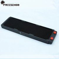 Wholesale Computer Water Radiator - Wholesale- FREEZEMOD 360mm copper computer water liquid radiator for 3*12cm fan. TSRP-BP360
