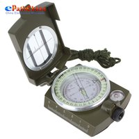 Wholesale Magnifiers For Sale - Wholesale-Sales Pocket-size Army Green Accurate Aiming Lensatic Compass with Magnifier for Scouting   Map Reading   Climbing