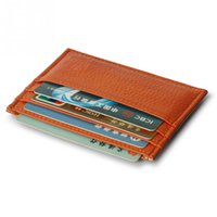 Wholesale Credit Card Book - Fashion 2016 Slim Mini Leather Credit ID Card Holder Wallet Purse Bag Pouch Book Cover Case