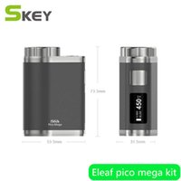 Wholesale Buy Stockings - 2017 new original Eleaf pico mega kit 100W Box Mod 4ML Tank e cigaretts with factory price in stock welcome to buy