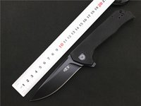 Wholesale Fix Bearings - NEWEST ZT Zero Tolerance 0804 D2 blade G10 handle ball Bearing folding knife camping hunting outdoor survival pocket knives hand tools
