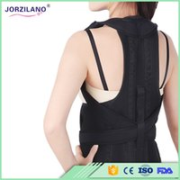 Wholesale Correct Posture Corrector - Sales Promotion Unisex Adult Posture Corrector Orthopedic Belt Shoulder Support Brace Correct of the Spine Fixation S-XL Free Shipping