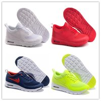 Wholesale Printing Gold - Original 2017 Maxes Thea Print 87 Men's Women's Running Shoes casual breathable Skateboarding Sneakers Walking Shoes Zapatillas Eur 36-45