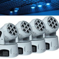 Wholesale Mini Wash Light - Classic disko light led led moving head DMX wash RGBW 4in1 leds 7*12W 14channel mini stage lighting effect for party lights