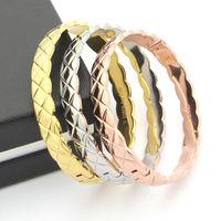 Wholesale cool men bracelet resale online - Bangles Bracelets Stainless Steel Bracelets Bracelets For Women Men Couple Cool Jewelry