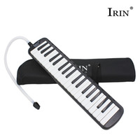 Vente en gros 37 Key Melodica Piano Clavier Style Harmonica Toy instruments musicais profesionales sanfona jouant acordeon avec sac