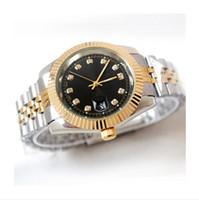 relógios precisos venda por atacado-2017 novo top 40mm masculino relógio de pulso posicionamento preciso de um relógio totalmente funcional de quartzo movimento da correia de aço sólido