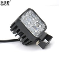 Wholesale Boat Board - 2PCS DC12-24V 12W Work Light Waterproof Cool White High Power Spot light for Off-board Car Boat Worklight For SUV BMW Truck