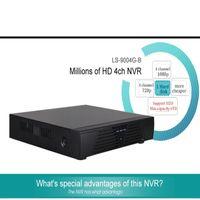 Wholesale Onvif Camera Recorder - LS-9004G-B Full HD 1080P CCTV NVR H.264 4CH NVR For IP Camera ONVIF P2P Network Video Recorder 4 Channel NVR ann