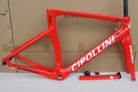 Wholesale Carbon Bike Frame Cipollini - NK1K cipollini frame carbon road bike frames 2016 racing bicycle frame carbon fiber bike frame, fork, seatpost, headset, clamp