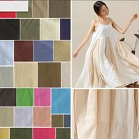 Wholesale Cotton Quilt Fabric Wholesalers - Direct manufacturers 11*11 linen cotton fabrics, pure cotton fabrics, multi-color spot wholesale