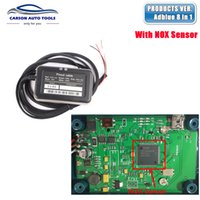 Wholesale Emulator Sensors - Wholesale- 2017 Adblue 8in1 AdBlue Emulator with NOx sensor Adblue 8 in 1 for M-ercedes M-AN S-cania Iv-eco D-AF V-olvo R-enault and F-ord