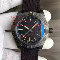 Wholesale Watch Pvd Movement - Luxury High Quality Watch JH Factory Maker 44mm SuperOcean Black PVD Coating Swiss ETA 2836 Movement Automatic Mens Watch Watches
