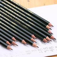lápis de desenho 4b venda por atacado-Atacado- [MITSUBISHI] 9800 Lápis Desenho a lápis Lápis de madeira 6B / 5B / 4B / 3B / 2B / B / HB / F / H / 2H / 3H / 4H / 5H / 6H 10PCS