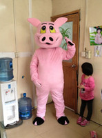 Wholesale Boar Mascot - Wild boar blue elephant big cock cartoon dolls mascot costumes props costumes Halloween free shipping