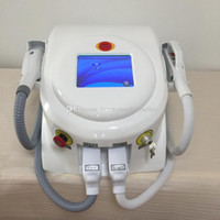 Wholesale Two Lift - Two Handles SHR OPT+Elight IPL laser hair removal machine  SHR OPT hair removal Elight wrinkle removal skin lifting wrinkle removal