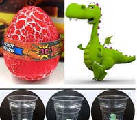 Wholesale Plastic Expansion - Fashion Kids' Creativity Toys Dinosaur Eggs Water Expansion Toys
