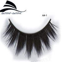 Wholesale Wholesale Eyelashes For Sale - 10 Pairs Handmade Silk 3D False Eyelashes for Lashes Makeup Beauty Popular Sale 3D Eye Lashes Black