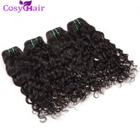 Hot Sale Peruvian Wet Wave Cheveux ondulés Weave Vierge Extension de cheveux humains Pack de vagues d'eau Cheap Remy Hair Hair Soft Tangle Free