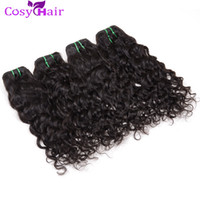 Wholesale Indian Remy Wavy Sale - Hot Sale Peruvian Wet Wave Wavy Hair Weave Virgin Human Hair Extension Water Wave Bundles Cheap Remy Human Hair Soft Tangle Free