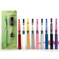Wholesale ego t vape ce5 resale online - eGo T Battery CE5 Atomizer Kit With USB Charger mAh mAh mAh E Cigarette Starter Kits Electronic Vape Pen Vaporizer