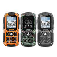 Wholesale Ip67 Waterproof Mobile Phone - Original LM128C IP67 Waterproof Cellphone Rugged Outdoor Mobile Phone 2.0 inch 1700mAh Support CDMA800 GPRS FM Supports 16GB SD Card
