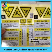 Wholesale Foil Stickers Custom - Transparent clear sticker printing with gold foil stamping, vinyl gold sticker for cosmetics
