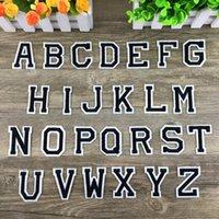 f алфавит оптовых-Письмо патч Цифровая паста школа питомник номер знак логотип значок вышитые на алфавит патчи для ткань значки пасты 0 3ss F