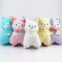Wholesale Japanese Big Plush - Demishop 45cm 35cm Good Night Alpaca Plush Doll Japanese Alpacasso Toys Kawaii Alpaca Plush Kids Lamb Christmas Gift