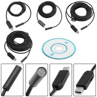 Micro USB Endoscópio 10MM Lens Mini Waterproof Borescope Inspection Tube Visual Video Photo Capture Camera 2m 5m 10m 15m