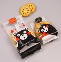 Wholesale cookies dogs for sale - Group buy Gift Wrap Open top Cute Dog Cat Design Bakery Food Packaging Cookies Bags Food Packaging OPP Plastic Snack Bread Bags