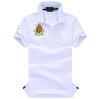 Wholesale big horse men polo summer plus size s xxl tee mens polo shirts branded polos homem clothing tops