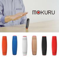 Wholesale Focus Kid - Retail MOKURU Rollver Desktop Flip Fidget Stick Relieve Stress Improve Focus Fun Toys Decompression Wooden Toys Kids&Adult Finger Toys