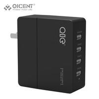 Wholesale 4port usb - Wholesale- QICENT 5A Caricabatteria USB Universale, QICENT 4Port USB del Caricatore Della Parete adattatore 5V2.1A*1&1A*3 for iPhone Tablet