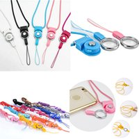 Wholesale Buckle Ring Cheap - Cell Phone Lanyard Detachable Rotatable Ring Buckle Anti falling Cellphone Straps Charms Accessories Cheap Free DHL 350