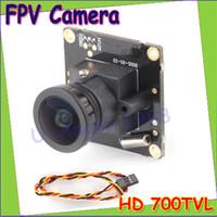 Wholesale Ccd Pcb Camera - Remote Control Parts Accs Wholesale 1pcs HD 700TVL Sony CCD PAL or NTSC FPV Camera OSD D-WDR Mini CCTV PCB FPV Tiny