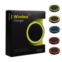 Wholesale Wholesale Cellphone Pad - S6 Qi Wireless Charger Cell phone Mini Charge Pad For Qi-abled device cellphone with retail package