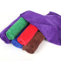 Wholesale Microfiber Wax - Car Clean Buffing Towel Microfiber car wax Polishing Cloths cleaning cloths kitchen cleaning towels Large car wash towel free shipping