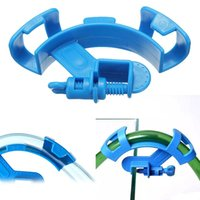 Wholesale hoses pipes resale online - 50Pcs Aquarium Water Hose Holder Water Pipe Filter For Mount Tube Clip Fish Tank Firmly Hold Hose Fixing Clamp Accessories