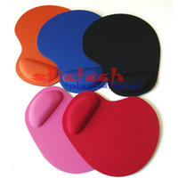 Wholesale Trackball Cable - by dhl or ems 100pcs Comfort Wrist Mouse Soft Gel Rest Pad Mat Mice For Optical Trackball PC Mouse