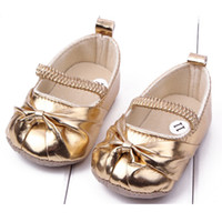 Wholesale Infant Pre Walkers - Wholesale- Baby Girl Shoes Infant Toddler Girls Shoes Pre walker Walking Shoes