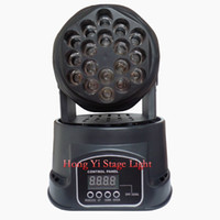 Wholesale Led Mini Moving Head Rgb Dmx - 2016 hot led moving head beam mini led rgb dmx 18*3W led moving head Quad with advanced 13 channels factory directly sale