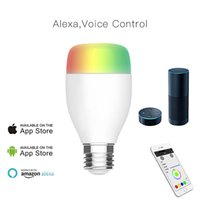 Wholesale Music Rhythm Led - WiFi Smart Bulb White LED Light Support Remote Control   Music Rhythm   Adjust Brightness for Android iOS Smartphone