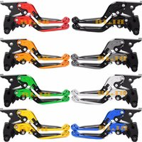 Wholesale Suzuki Clutch Foldable - 8 Colors CNC Motorcycle For Suzuki GSF 650 Bandit 2005 - 2006 Hot Sale High-quality Moto Adjustable Foldable Extending Clutch Brake Levers